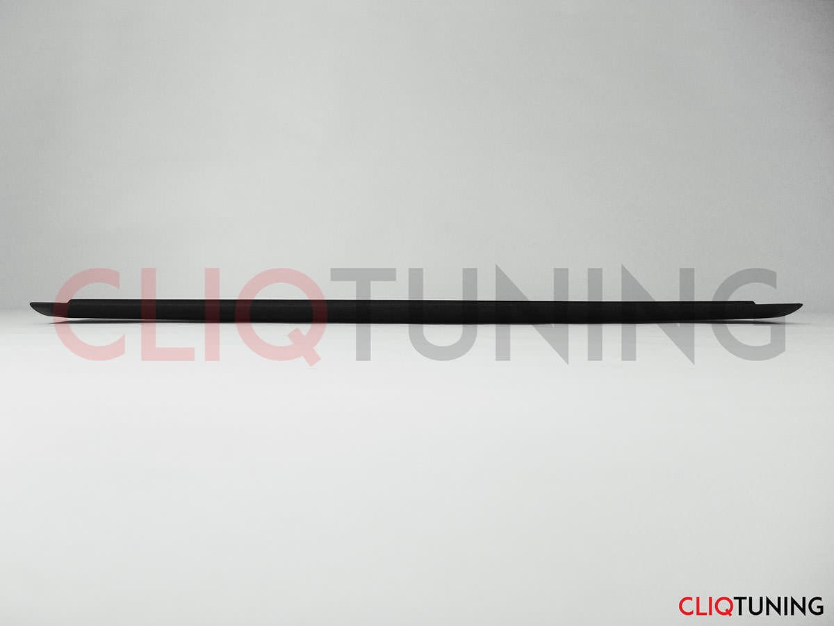 Universal JDM bmw nissan gurney flap for trunk spoiler wing drift stance cliqtuning