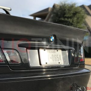 BMW E46 COUPE DUCKTAIL WING FOR DRIFT AND STANCE CLIQTUNING