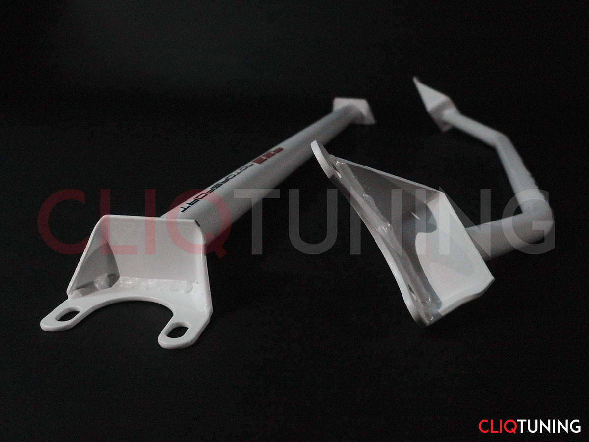 bmw e30 front and rear strut bars tower brace