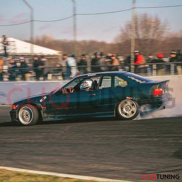 ROY REYNOLDS DRIFTING WITH BMW E36 COUPE CSL WING