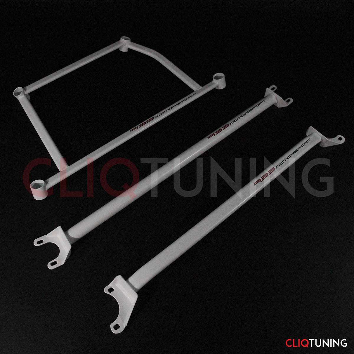 bmw e36 strut bars front rear and lower x brace