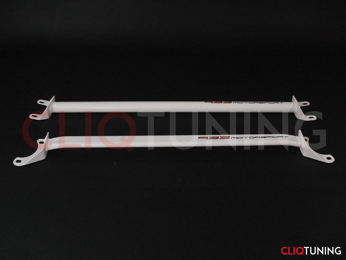 bmw e36 strut bars front rear and lower x brace tower bar
