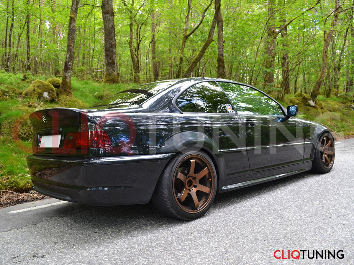 bmw e46 coupe csl wing in forest2 cliqtuning. Black Bedroom Furniture Sets. Home Design Ideas