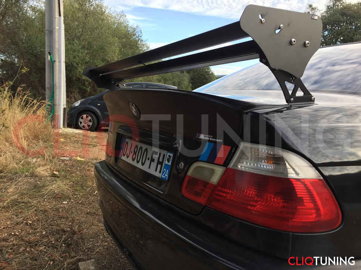 bmw e46 coupe csl wing with big wing