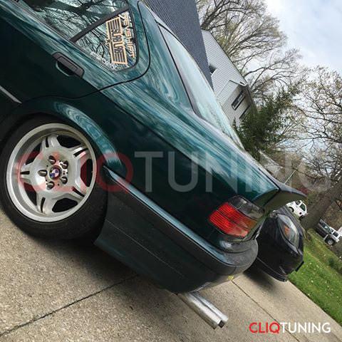 BMW e36 sedan csl wing spoiler