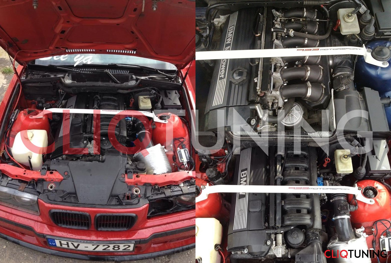 bmw e36 front strut bar