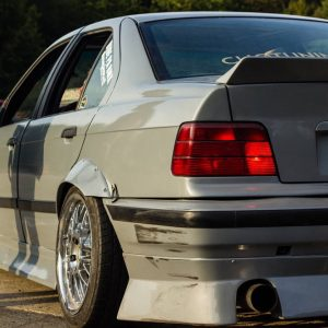 bmw e36 aero kit for drift stance front rear lip and sideskirts jdm bn jap cliqtuning coupe sedan compact touring aerokit
