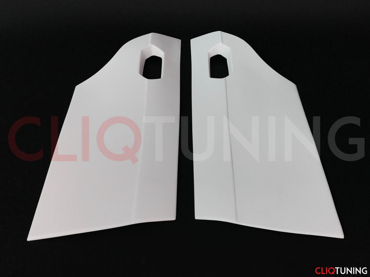 bmw e36 sedan rear door panels overfenders over fenders wide body 50mm 40mm for drift track stance low cliqtuning3