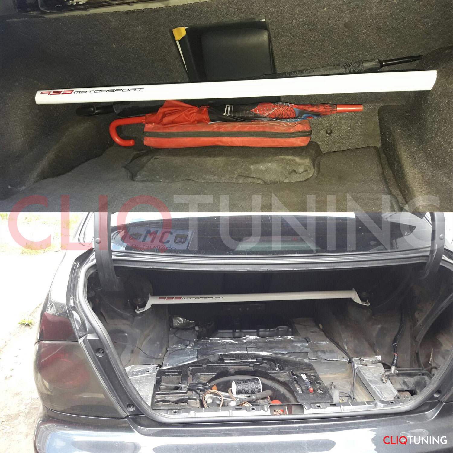 Lexus Altezza Rear Strut Bar Strutbrace Xbrace Is200 Is300