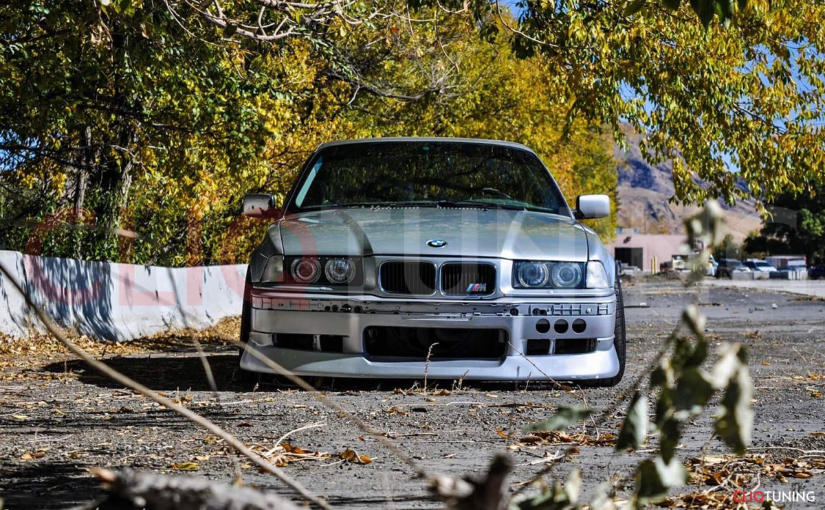 bmw e36 coupe aero kit front lip jap bn style bumper lips and side skirts for drifting and stance cliqtuning
