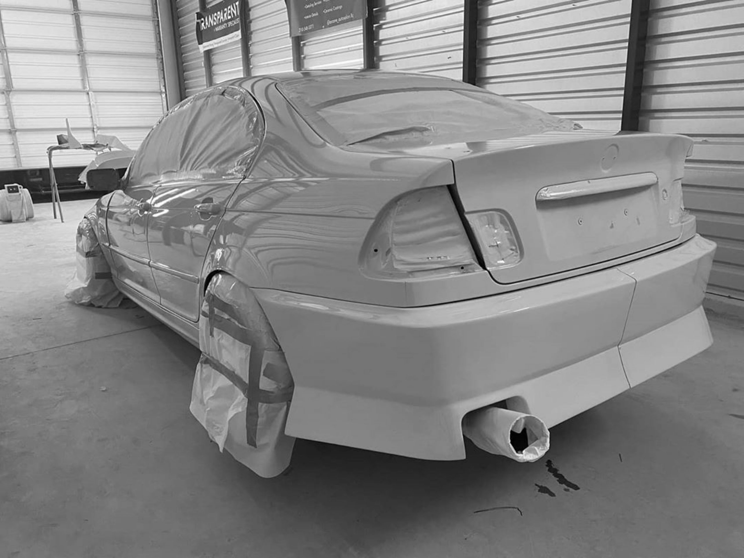 Bmw E46 Sedan Wagon Aero Kit Cliqtuning